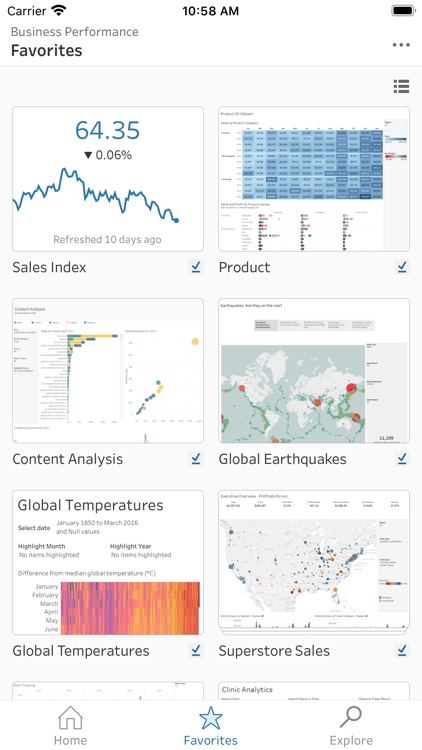 Tableau Mobile screenshot-1