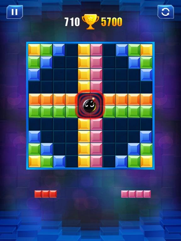ブロックパズル-古典的な脳パズルゲームのおすすめ画像2