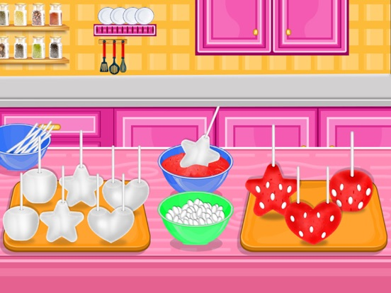 Strawberry Pops Cooking Games screenshot 8