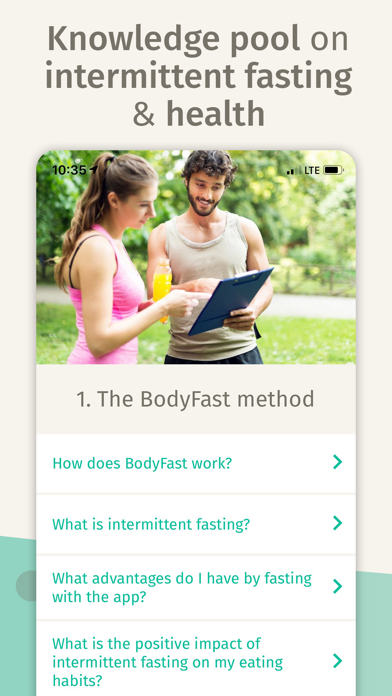 BodyFast Intermittent Fasting Screenshot