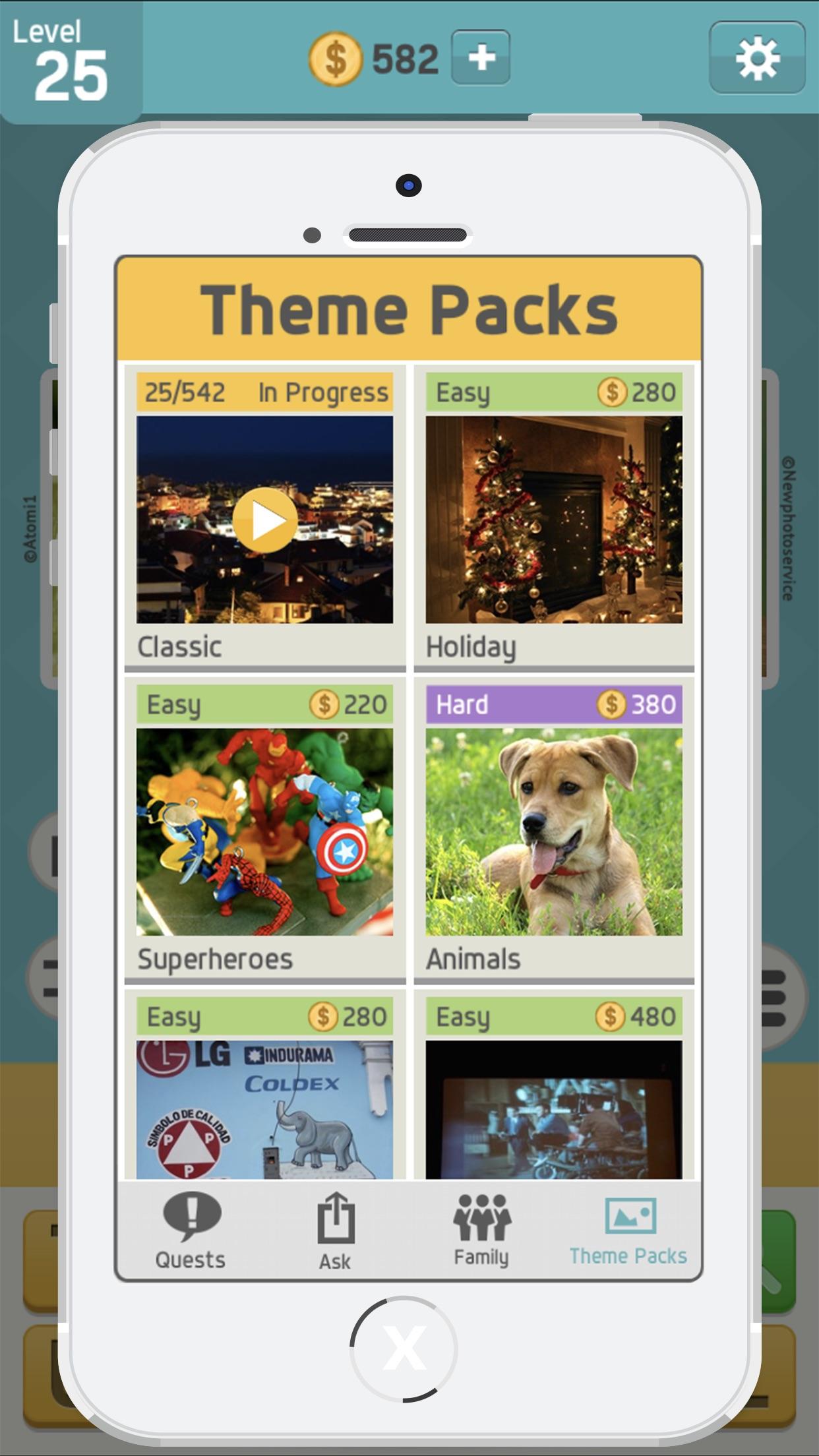 Pictoword: Fun Word Quiz Games Screenshot