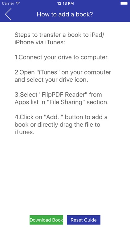 Flip PDF Reader screenshot-4