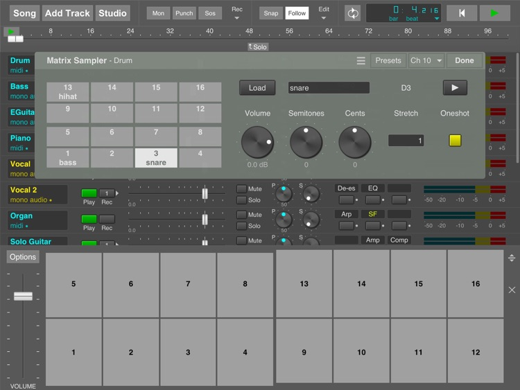 MultitrackStudio for iPad screenshot-4