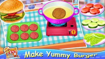 Pizza Burger - Food Maker screenshot 2