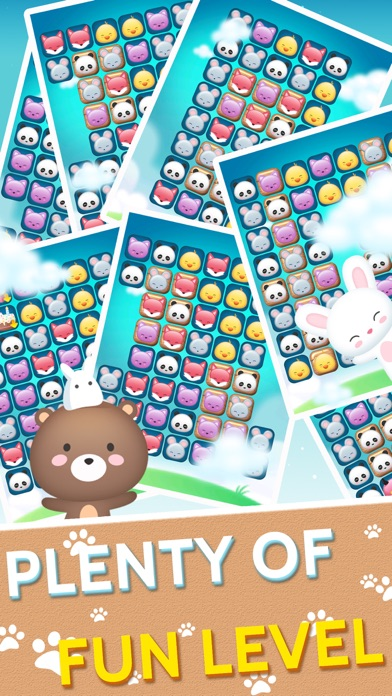 Screenshot for 动物消消乐园 - 萌宠快乐消消消 in United States App Store