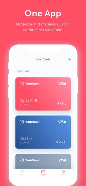 Tally — Pay Off Debt Faster on the App Store