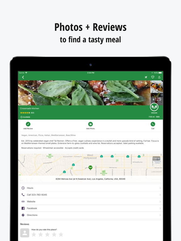 HappyCow Find Vegan Food Screenshots