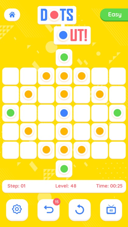 Dots Out - A puzzle Adventure screenshot-3