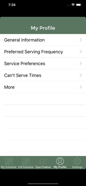 Ministry Scheduler Pro on the App Store