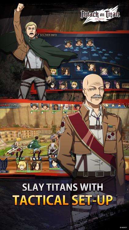 Attack on Titan: Assault screenshot-4
