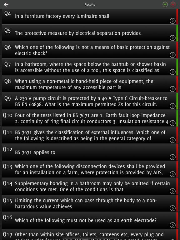 IET Wiring Regulations 18th Ed screenshot 7