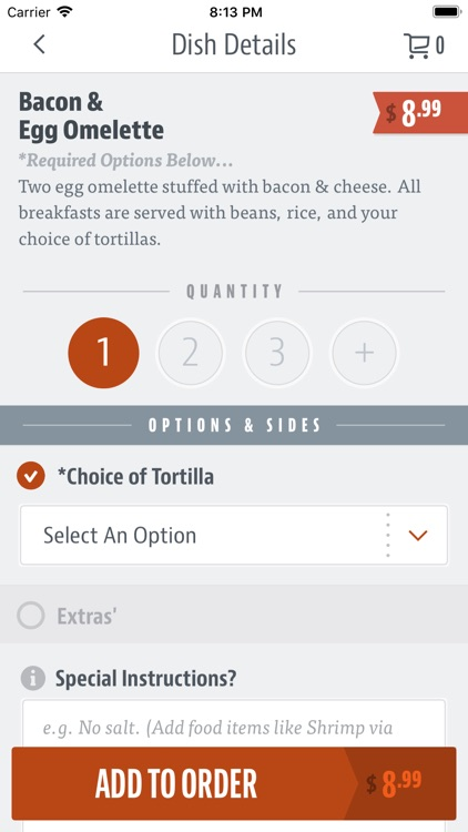 Cuca's Mexican Food screenshot-3