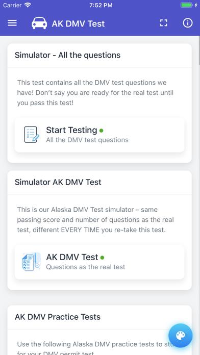 点击获取Alaska DMV Permit Test