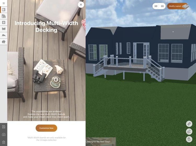 TimberTech Deck Designer screenshot-3