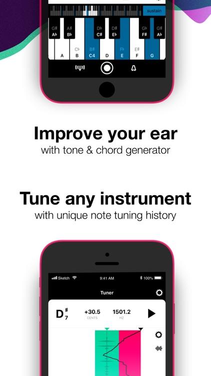 Tunable Tuner & Metronome screenshot-3