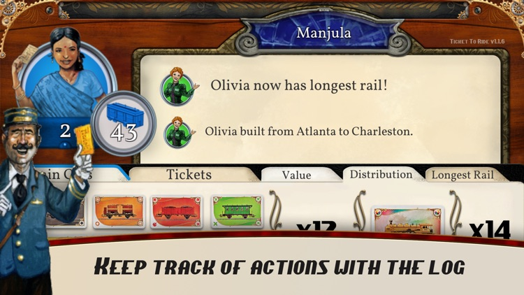 Ticket To Ride - PlayTable screenshot-5