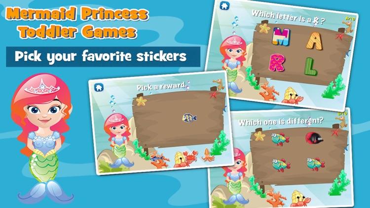 Mermaid Princess Toddler Game screenshot-3