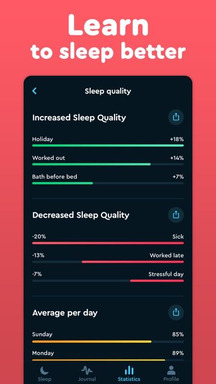 Sleep Cycle: smart alarm clock screenshot-3