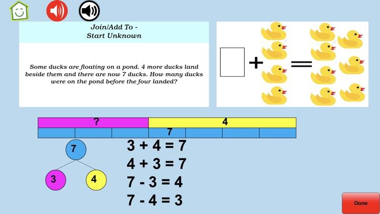 Math Word Problem Grades 2-3 screenshot-7