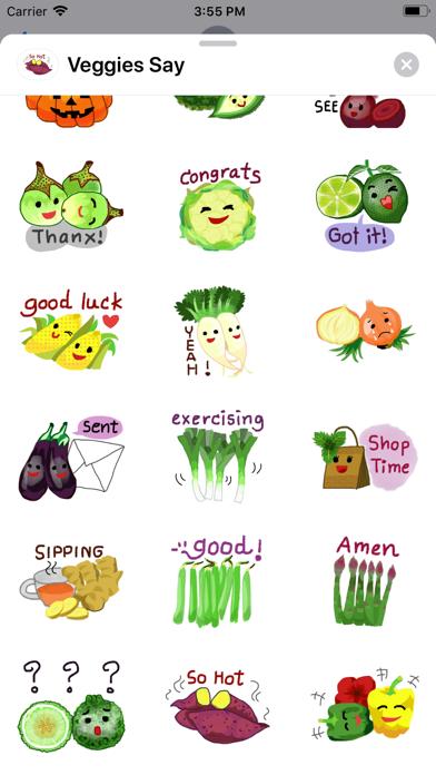 Veggies Say screenshot 3