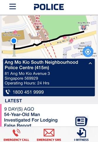 Police@SG - náhled