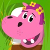 Pinky the Hippo: In the Wild