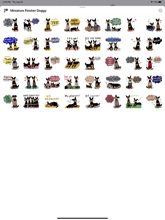Miniature Pinsher Doggy screenshot 4