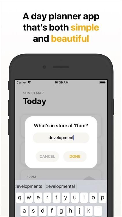 Hour Blocks: Day Planner