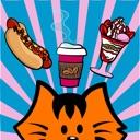 Kikimoji Food – Cat Stickers