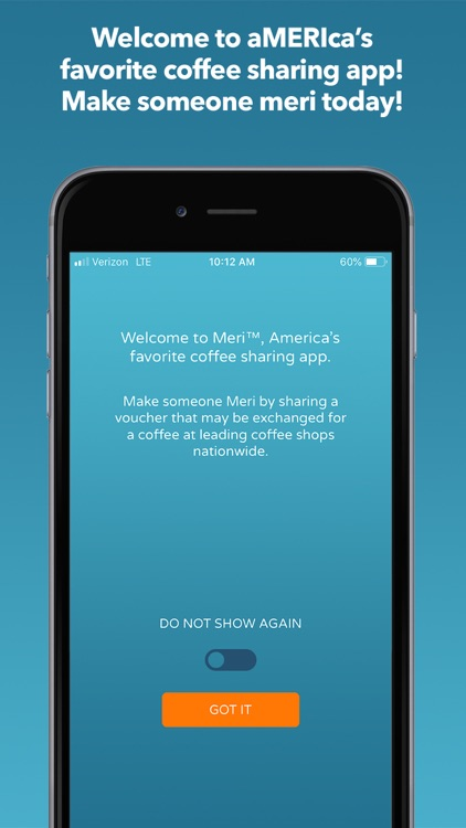 Meri Coffee Sharing App