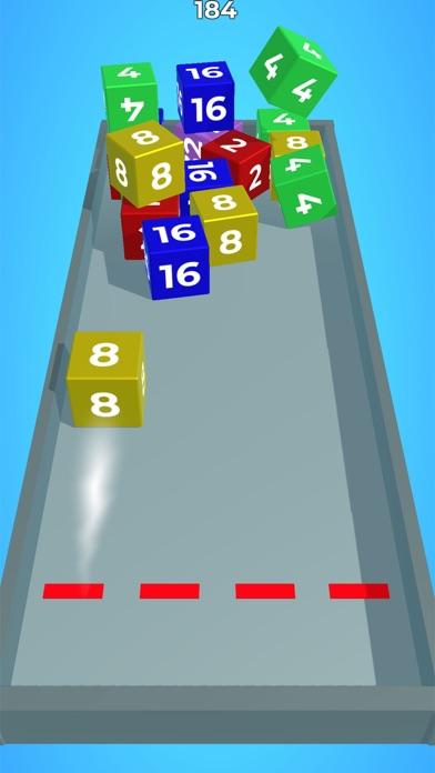 Chain Cube: 2048 3D merge game screenshot 3