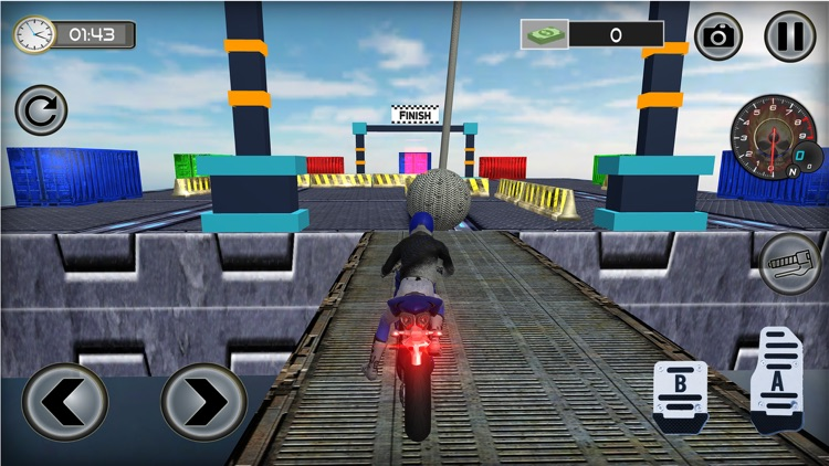 Impossible Motor Bike Stunts