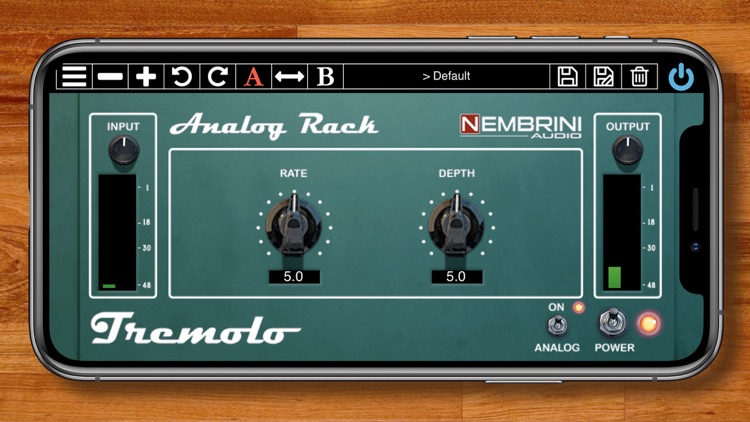 Analog Rack Tremolo