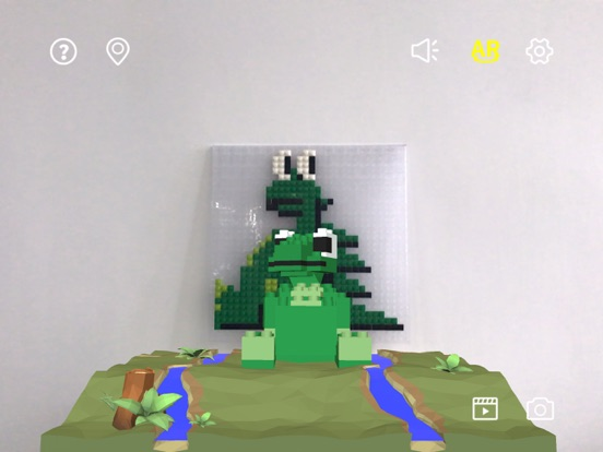 像素恐龙AR screenshot 8