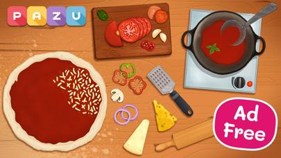子供向けの料理ゲームとピザ作り Pizza gamesのおすすめ画像1
