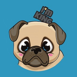 Pug Lovers Stickers