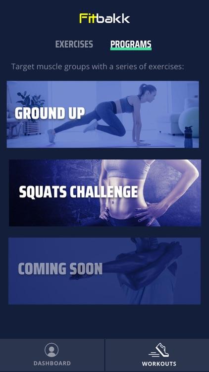 Fitbakk: Fitness Trainer screenshot-5
