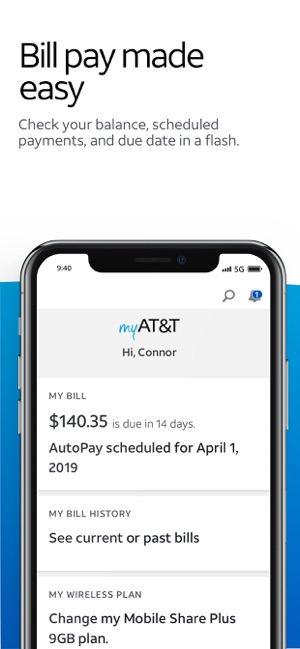 myAT&T on the App Store