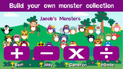 Monster Math - Learning fun screenshot four