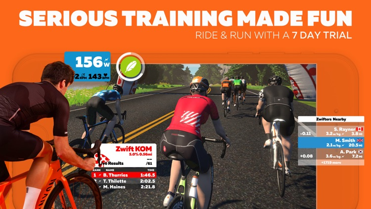 Zwift: Running and Cycling screenshot-0