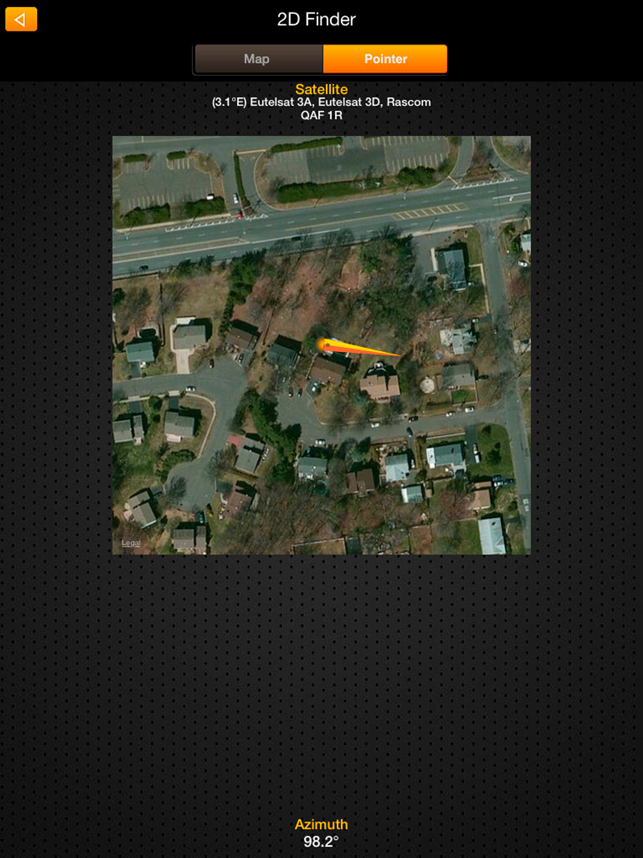 ‎SatFinder Pro HD Screenshot