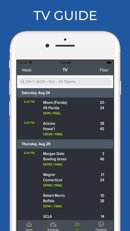 TCU Football Schedules screenshot-6