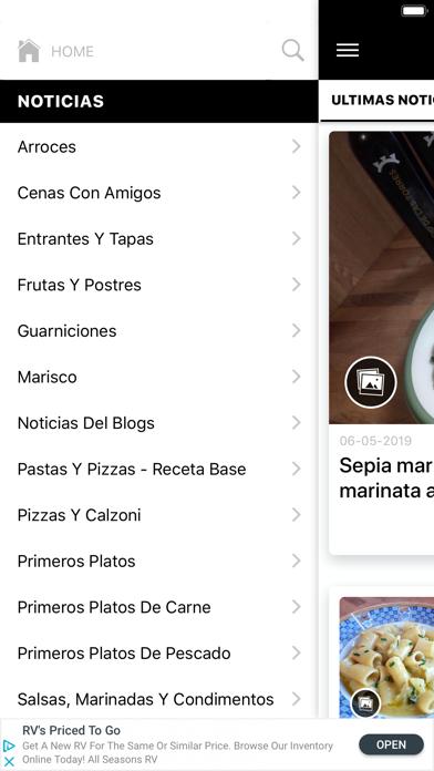 Recetas Italianas screenshot three