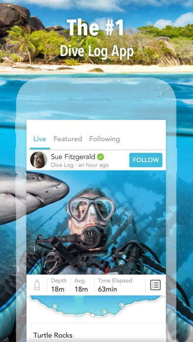 Deepblu – dive logbook & social network for diver screenshot