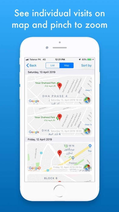 MZVisits - Travelling tracker screenshot 4