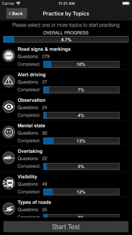 Driver Theory Test Ireland PRO screenshot-6
