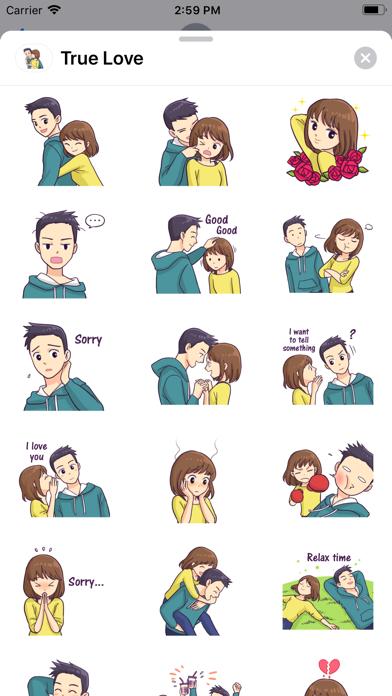 True Love - Stickers screenshot 1