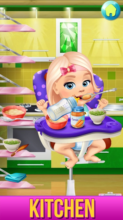 Baby Care Adventure Game