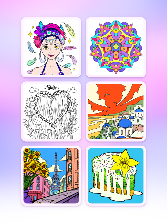 Coloring Fun : Color by Number screenshot 7