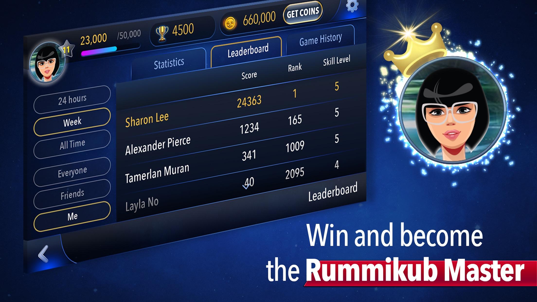 Screenshot do app Rummikub